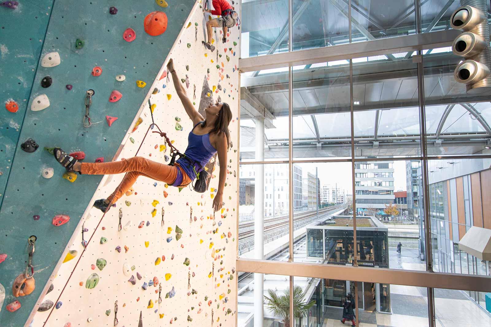 Salle d'escalade Climb Up Lyon Confluence
