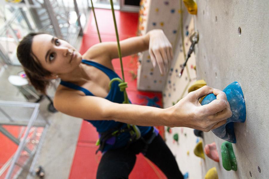 Salle d'escalade : voies à Climb Up Lyon Confluence