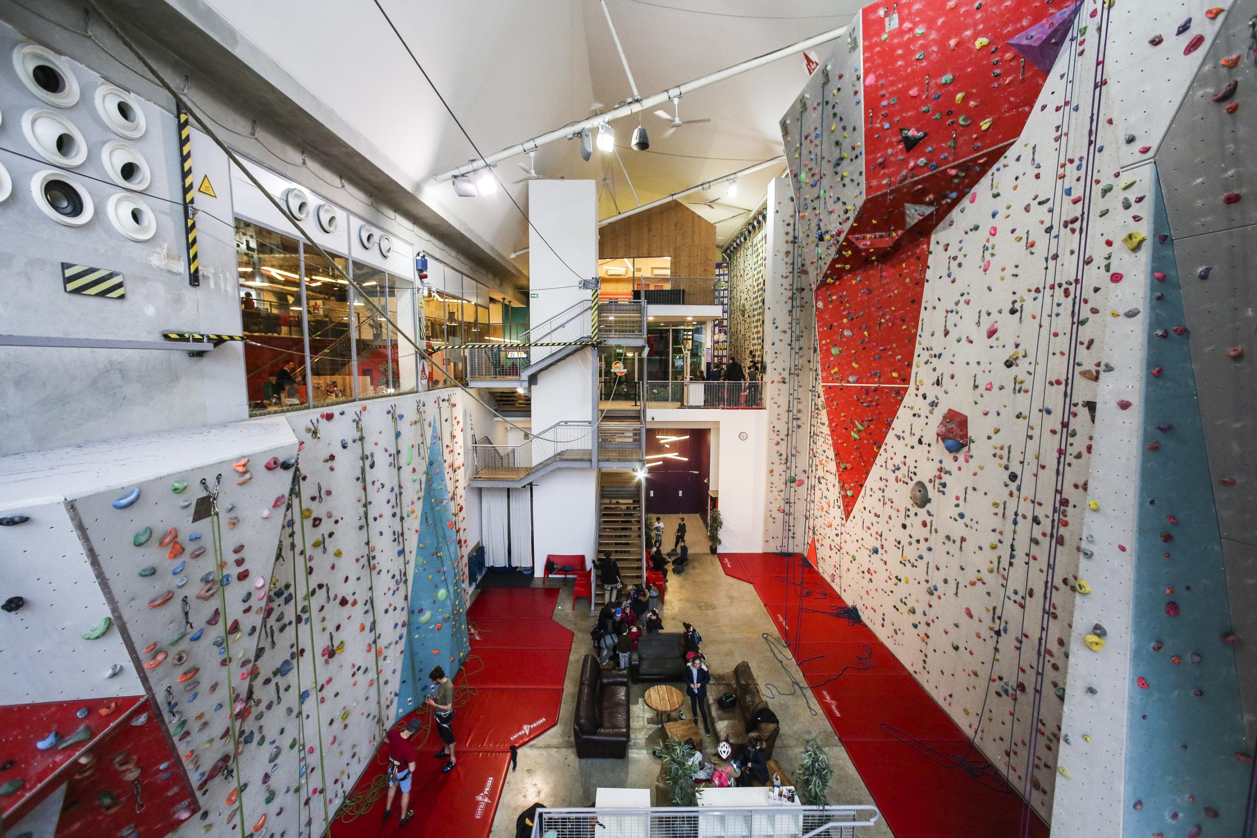 Climb Up Lyon Confluence : parcours aventure