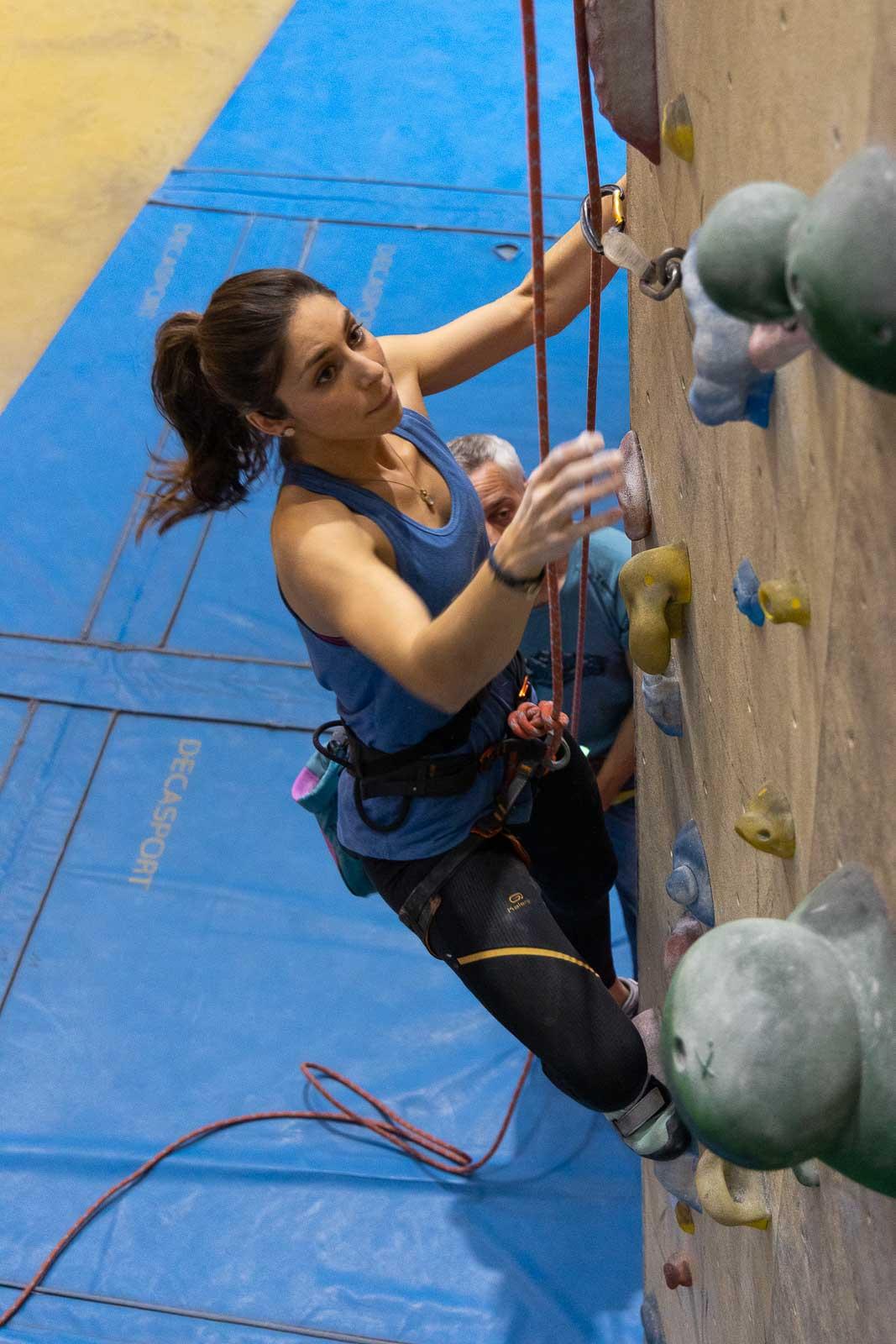 Grimper en Savoie dans la salle d'escalade Climb Up