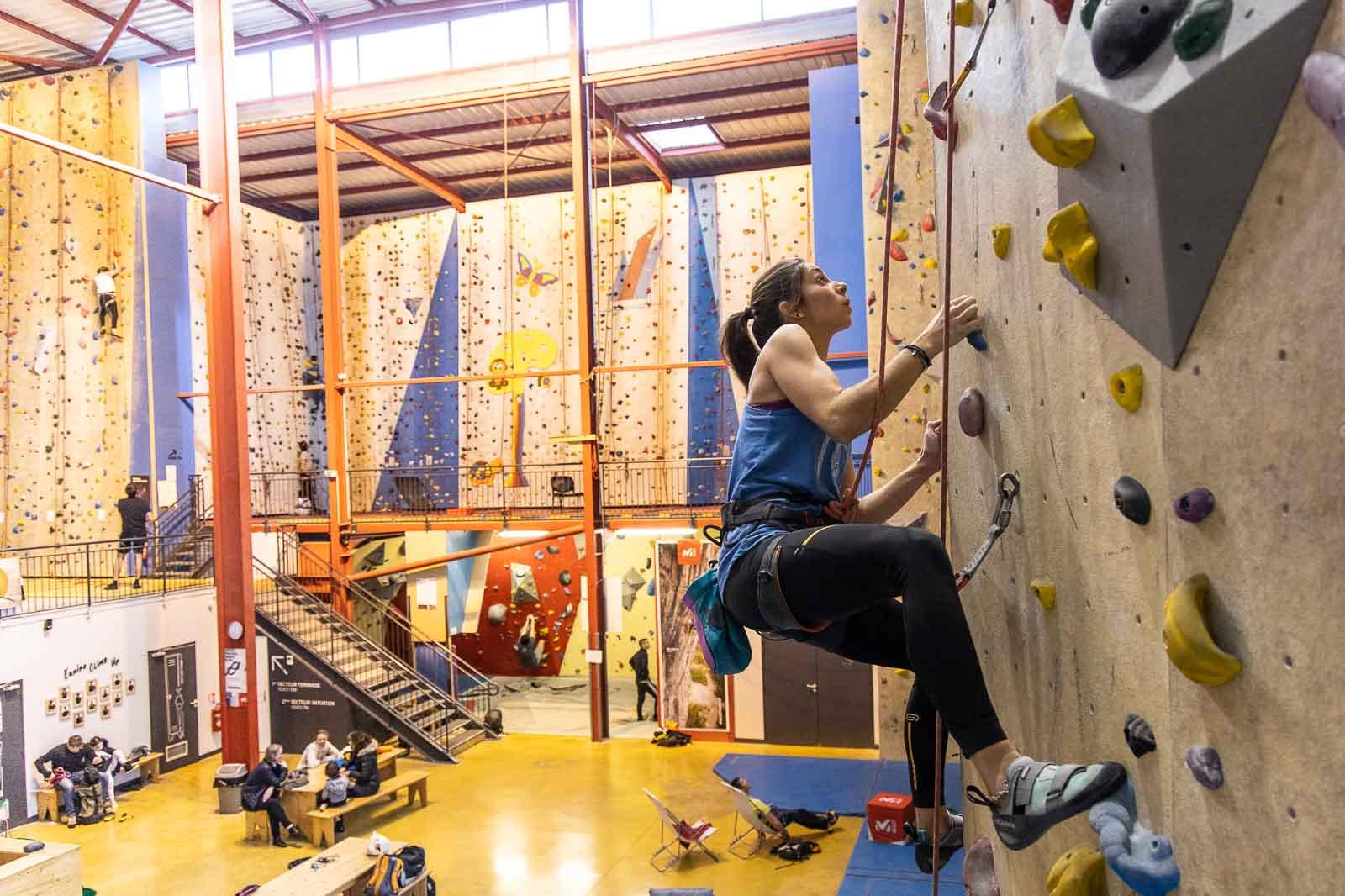 Grimpez entre Aix les Bains et Chambéry à la Motte Servolex : salle d'escalade