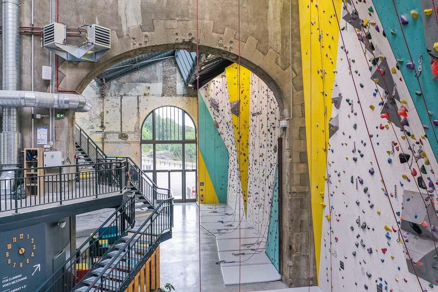 Grimper à Brest : voies à Climb Up